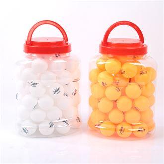 包邮训练比赛专用乒乓球60只装中小学生业余训练球特价发机球正品