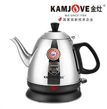 KAMJOVE/金灶 E-400食品级304不锈钢电热水壶全钢电茶壶烧水壶煮